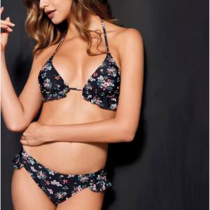 Bikini flores boleros