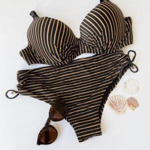 Bikini diseño rayas