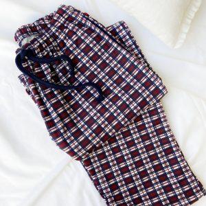 Pantalón cuadros caballero