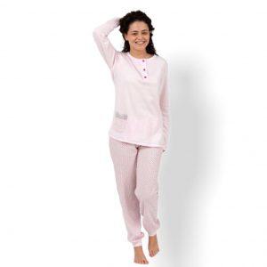 Pijama invierno bolsillo delantero