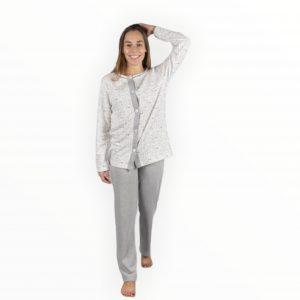 Pijama invierno – abertura camiseta